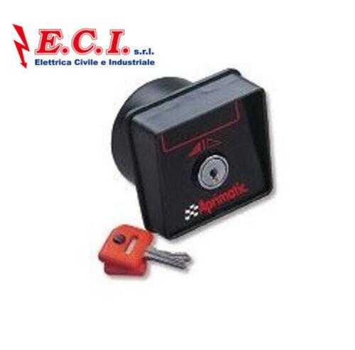 PC12 Pulsante a chiave a due contatti APRIMATIC 41830//005