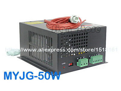 Business & Industrial Printing & Graphic Arts Myjg-50w 220v/110v 50w Co2 Laser Power Supply Psu Diy Engraving Cutting Machine