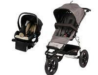 Mountain Buggy Urban Jungle Travel System In Flint With Protect Car Seat +base