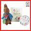 The-Peter-Rabbit-Beatrix-Potter-Audiobook-Soft-Toy-Plush-Story-Book-Bundle-Lot thumbnail 1