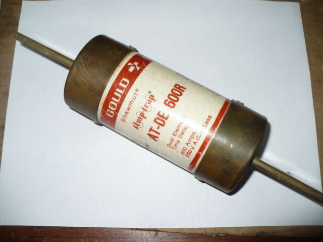 Gould Shawmut AT-DE 600R Fuse Used