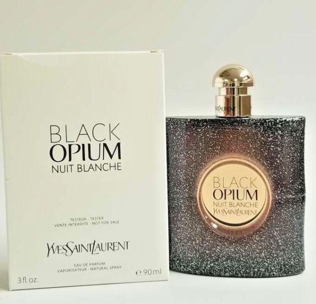 314d4b204ee BLACK OPIUM NUIT BLANCHE by YvesSaintLaurent EDP Parfum 3oz/90ml Tster box