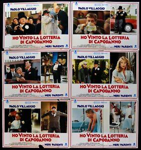 Fotobusta Ich Won Die Lotterie Von Silvester Schwarz Verwandten Paolo Dorf R89