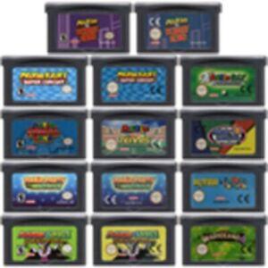 Mario Party Pinball Donke Kong Tennis Nintendo Game Boy Advanced GBA Game Card