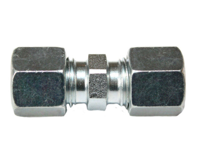 Winkel Verschraubung 90° 8mm Gasleitung Schneidring beidseitig SRV Gasrohr Flüss