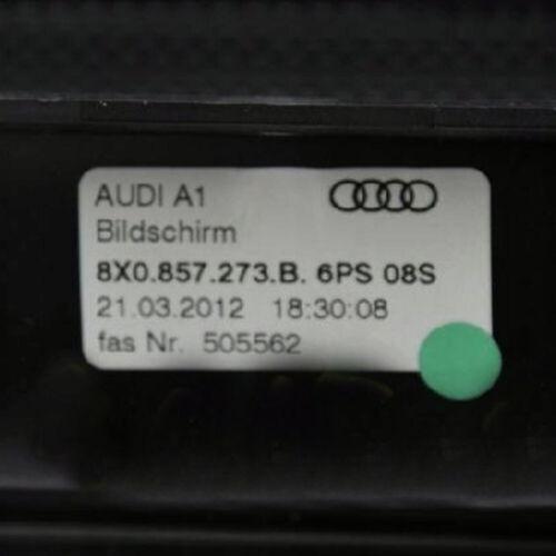 Audi A1 8X Bildschirm Display MMI Anzeigeeinheit screen 8X0857273B 6PS S1