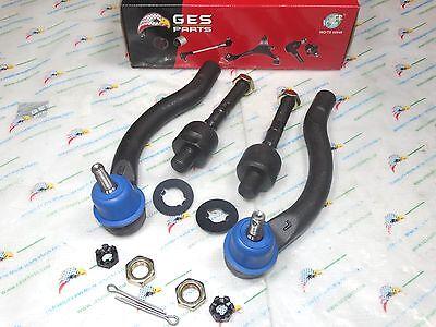 4PCS FRONT TIE ROD ENDS Fit 03-08 TSX 03-07 ACCORD EV80210 ES80288