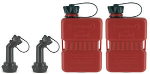 2x-FuelFriend-PLUS-1-Liter-Klein-Benzinkanister-Reservekanister-Motorrad-Roller