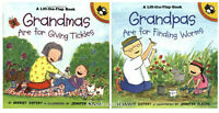 Grandmas Are For Giving Tickles & Grandpas Are For Finding Worms (pb) 2bks