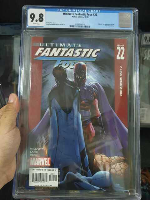 Ultimate Fantastic Four #22 CGC 9.8 (2005)