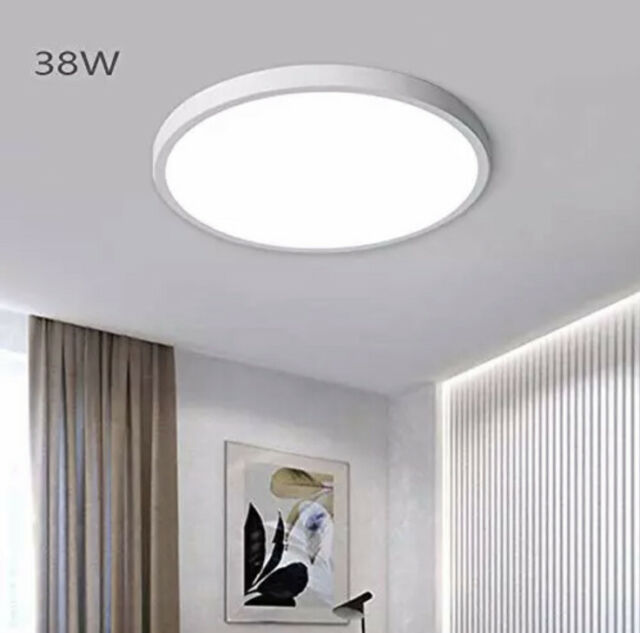 Jaycomey Modern 38w Led Ceiling Light 15 7 Inch Super Bright Led Flush Mount For Sale Online