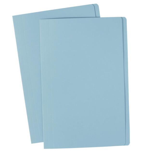 Avery Marbig Light Blue Manilla Folder Manila Foolscap & A4 163gsm    20 Files
