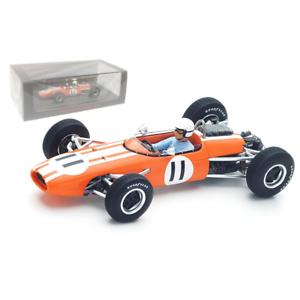 Spark Models – 1 43 Scale – Brabham BT11 Monaco GP 1965 Model Replica