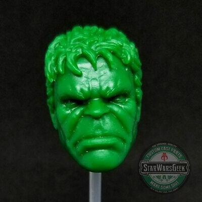 Red Hulk Head Resin Cast For BAFs Or Modding Marvel Legends