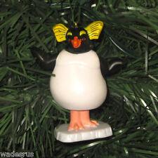 HAPPY FEET Lovelace Penguin - Custom Christmas Tree Ornament Decoration Holiday