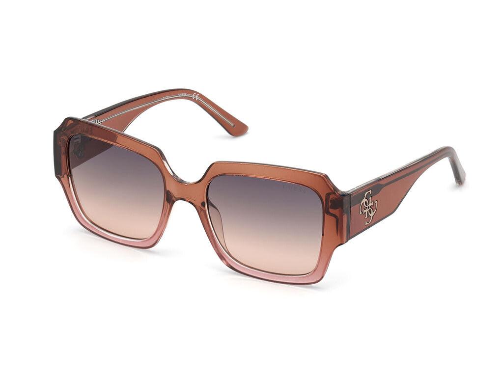 Guess Sunglasses GU7681 47B Brown smoke