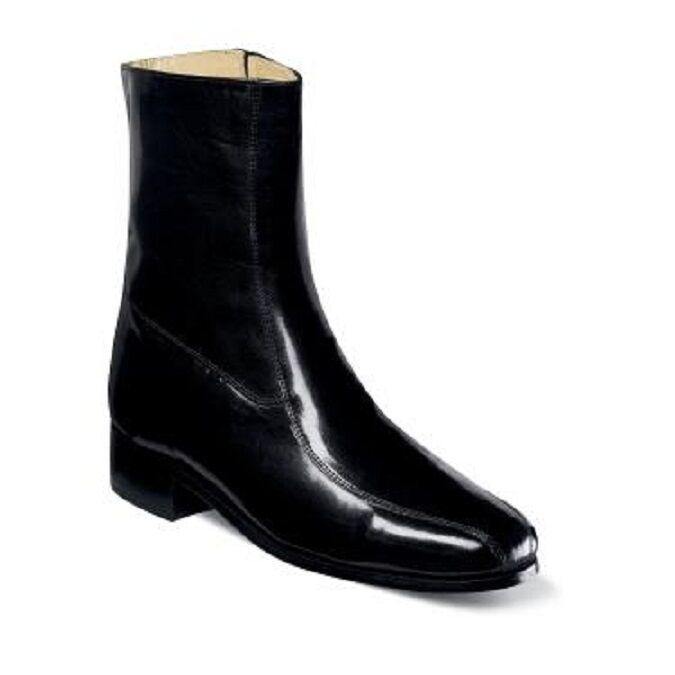 Zapatos para hombre Nunn Bush botín Bristol Negro Suave Piel De Cabritilla Cuero 3014-01