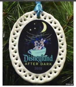 Details about Disneyland AFTER DARK 2018 Porcelain Ornament NEW Mickey And  Minnie Mouse