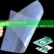 Waterproof Inkjet Transparency Film For Screen Printing 85 X 1125 Sheets