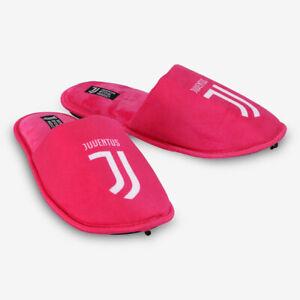 Juventus-Pantofole-Rosa-con-Logo-Donna