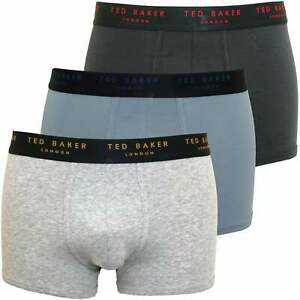 Ted Baker 3 Pack Boxer Briefs Navy Navy NEW Navy