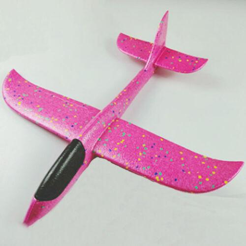 Child Diy Toy Hand Throwing Flight Glider Foam Model Glider Toy Airplane Outdoor