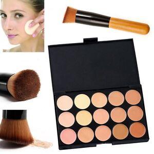 15-Colors-Compact-Contour-Concealer-Face-Powder-Brush-Sponge-Makeup-Palette-Tool