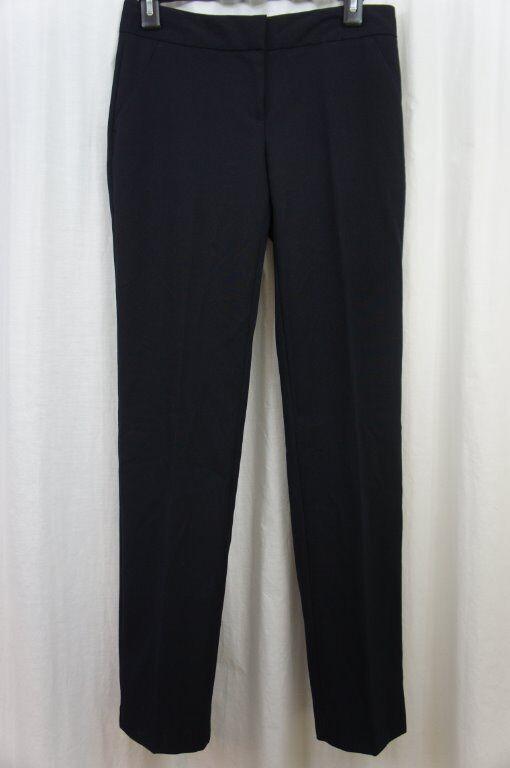 Laundry Dress Pants Sz 2 Dark Moonlight bluee Modern Fit Straight Leg Career