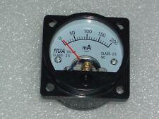 Analog Panel Meter Dc 0 200ma Ammeter