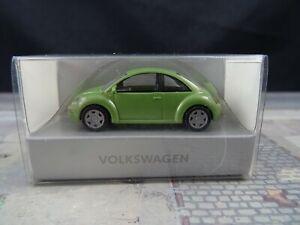 Wiking-VW-New-Beetle-gruenmetallic-Sondermodell-1-87-BT78