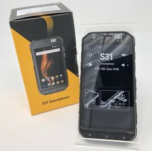 Details About Caterpillar Latam Cat S31 16gb Smartphone Waterproof Unlocked Gsm Phone Dual Sim