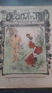 Rivista Jeans Che Rit N° 395 1908 Giornale Illustre che Appaiono Il Venerdì ABE