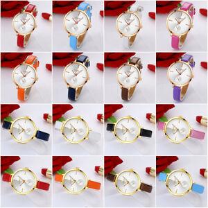 Women-Fashion-Leather-Band-Analog-Quartz-Casual-Round-Wrist-Watch-Gold-Watches