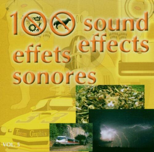 100 Effets Sonores vol.5-100 Effets Sonores vol.5