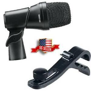 Mic-For-Snare-Drum-Rack-Tom-Floor-Toms-Cajon-Bongos-DRST100-Microphone-Rim-Clip