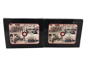 THE-SPIRIT-OF-TEXACO-48-VINTAGE-PHOTO-REPRINTS-ON-POSTCARDS-2-Sets-All-Different