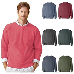 Comfort Colors Mens Pigment Dyed Crewneck Sweatshirt