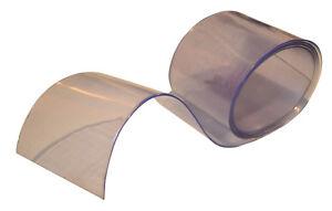 Clear Flexible PVC Door Strip/Curtain 300mm x 2mm x 1 metre length