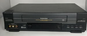 Toshiba-4head-Hi-Fi-Video-Cassette-Recorder-Commercial-Skip-Model-W-528-Tested