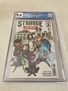 Strange Academy #1 CGC 9.6 White Pages Cover A 1st Print Many First Appearances