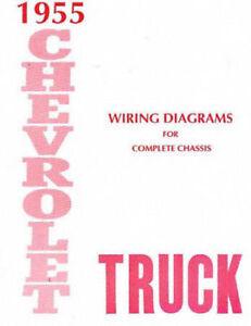 1955 CHEVROLET TRUCK WIRING DIAGRAMS   eBay
