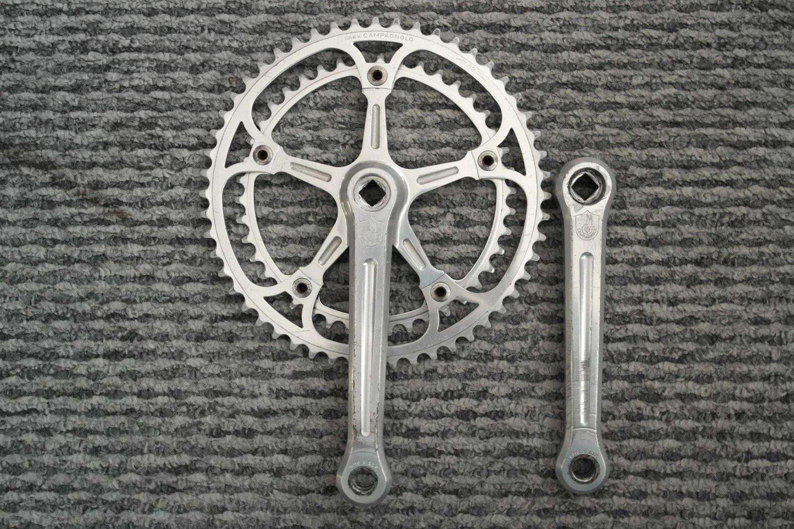 Campagnolo Campag Campy Eroica Record Strada 52 42 Chainset 170mm