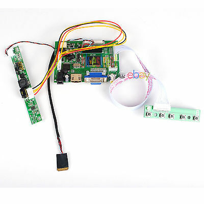 "HDMI+VGA+2AV LCD Controller Board For 9.7"" LP097X02 IPAD 2 1024*768 LCD Panel"
