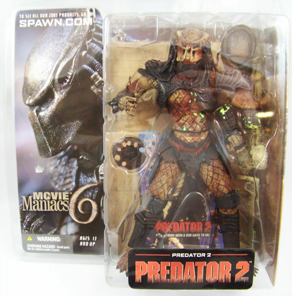 McFarlane MOVIE MANIACS serie 6 Prossoator 2 FILM ACTION FIGURE FIGURE FIGURE CON EXTRA personalizzati af07ca
