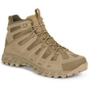 AKU Selvatica Tactical Mid GTX Boots Mens Desert Summer Light Combat Coyote
