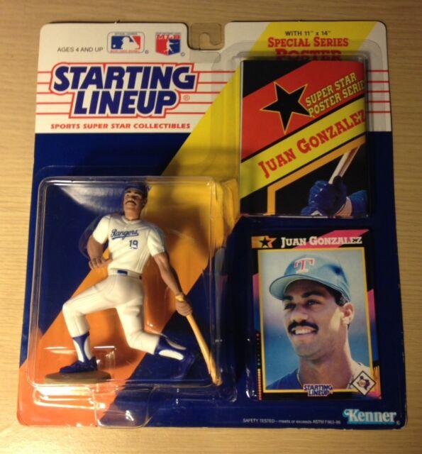 Juan Gonzalez-Texas Rangers-Starting Lineup spécial 1992 US baseball Figure