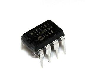 10PCS MCP2551 IC TRANSCEIVER CAN HI-SPD 8-DIP NEW GOOD QUALITY