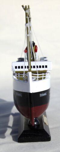 Detailed Wooden model of Titanic 30cm x 18cm