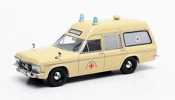1 43 Scale Matrix MX11502-032 1970 Opel Admiral B SWB  Miesen Ambulance - BNIB  livraison et retours gratuits
