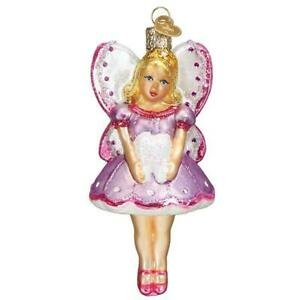 Old-World-Christmas-TOOTH-FAIRY-10235-N-Glass-Ornament-w-OWC-Box